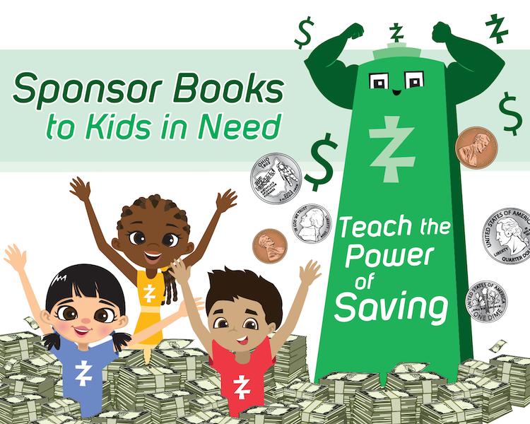 Sponsor Books to kids in need logo